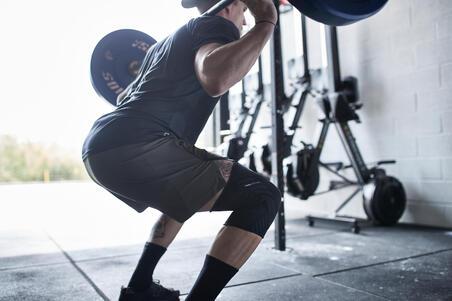 Right/Left Men's/Women's Knee Prevent Soft 500 - Black