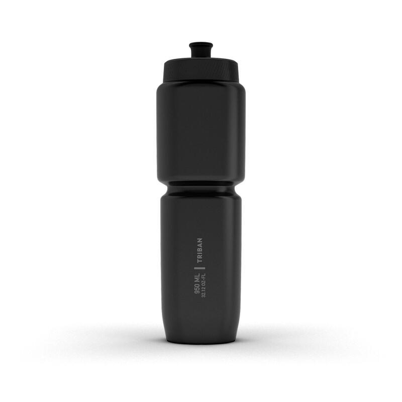 950 ml Cycling Water Bottle SoftFlow - Black