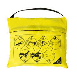 Filet de beach-volley BV100 WIZ NET jaune