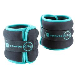 Wrist and Ankle Weights Twin-Pack 0.5 kg