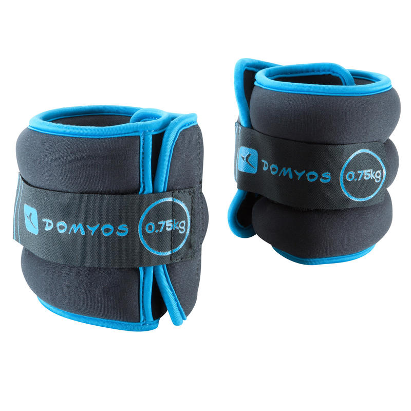 Toning Adjustable Wrist and Ankle Soft Weights Twin-Pack - 0.75 kg