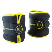 Ankle Weights Twin Pack - 1Kg