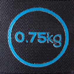 PESAS MUÑECAS TOBILLOS GYMWEIGHT 2x0.75 kg.
