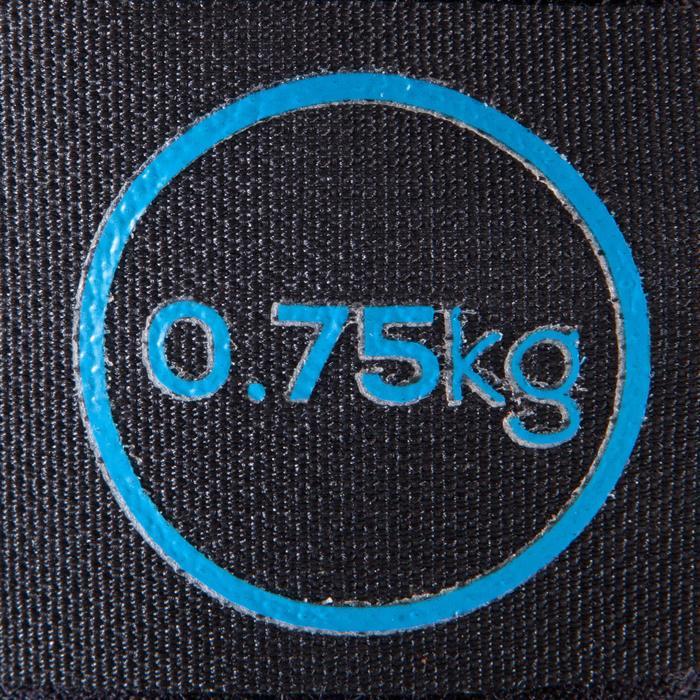 Verstelbare pols- en enkelgewichten pilates figuurtraining 2 x 0,75 kg