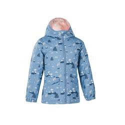 Girl's 2-6 Years Hiking Warm and Waterproof Jacket SH100 Warm