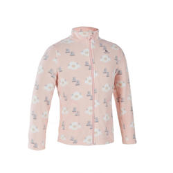 KIDS' GIRL CN FLEECE MH150 - PINK