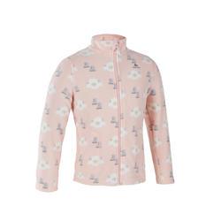 女童款刷毛衣MH150-粉紅色