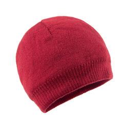 滑雪帽SIMPLE - 覆盆子色