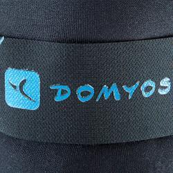 Lastres y Pesas para Tobillos y Muñecas 2x0,75KG Gimnasia Pilates Domyos Negro