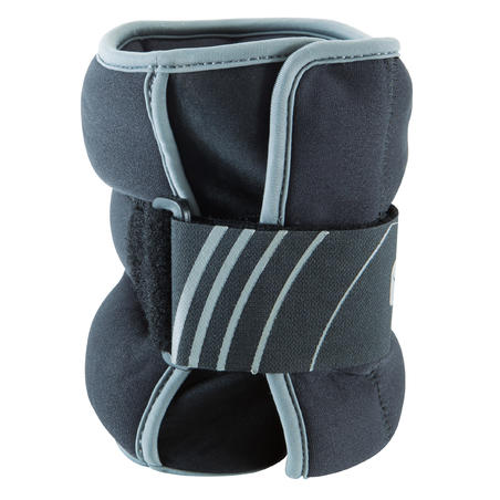 Tone SoftBell Adjustable Wrist and Ankle Weights Twin-Pack 2 kg