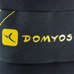 Lastres y Pesas para Tobillos y Muñecas 2x1KG Gimnasia Pilates Domyos Amarillo