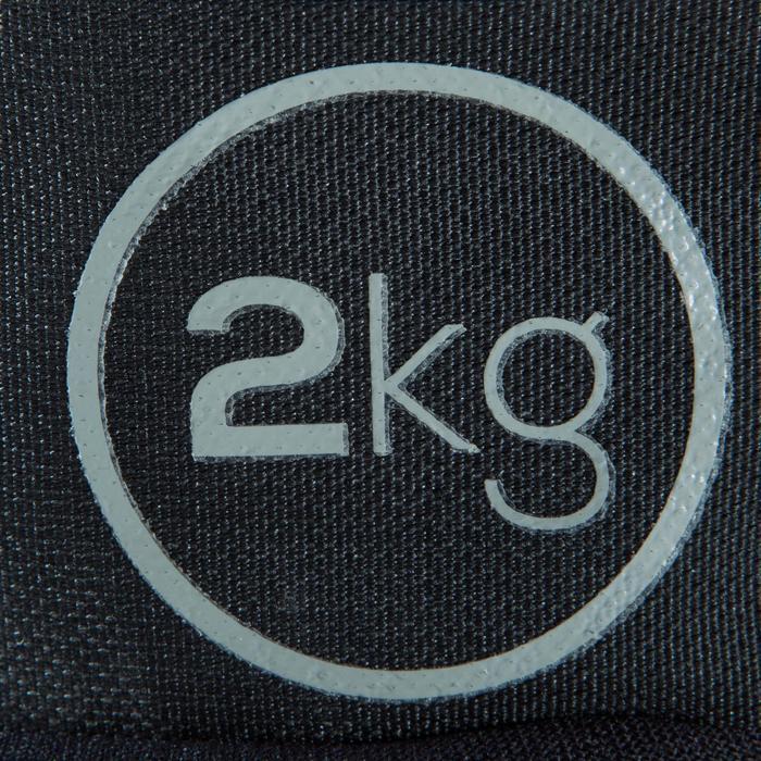 Verstelbare pols- en enkelgewichten 2 x 2 kg