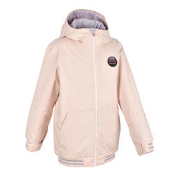 Girls' Snowboard and Ski Jacket SNB JKT 100 - pink