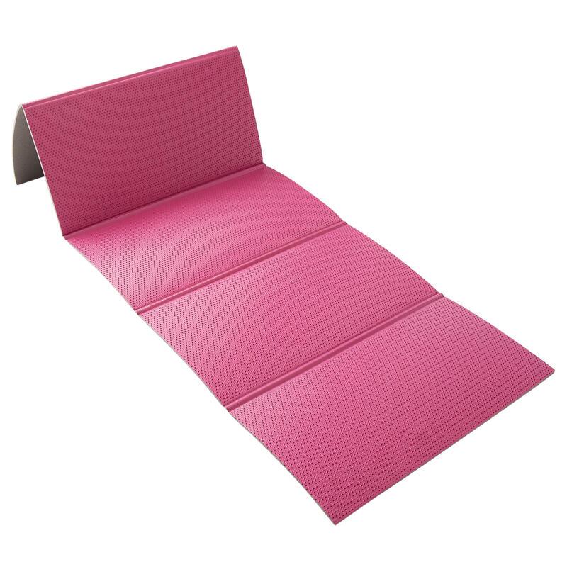 Colchoneta ESTERILLA mat pilates PLEGABLE Rosa 160 cm x 60 cm x 7 mm