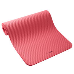 舒適健身墊170 cm x 55 cm x 10 mm - 粉色
