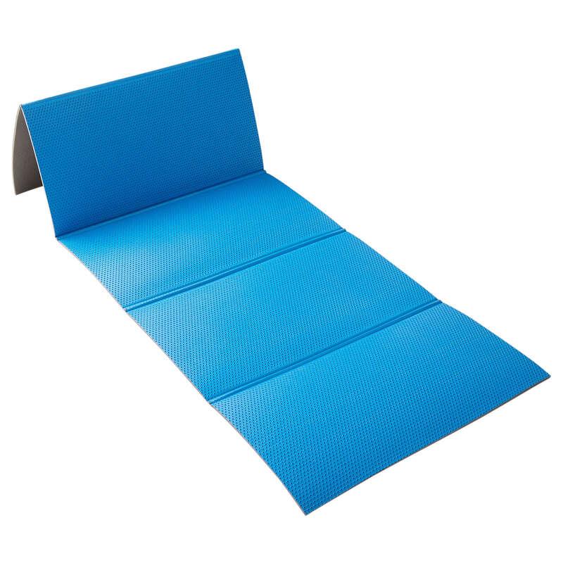 MATERIALE TONIFICAZIONE Ginnastica, Pilates - Tappetino 500 taglia M blu NYAMBA - Sport