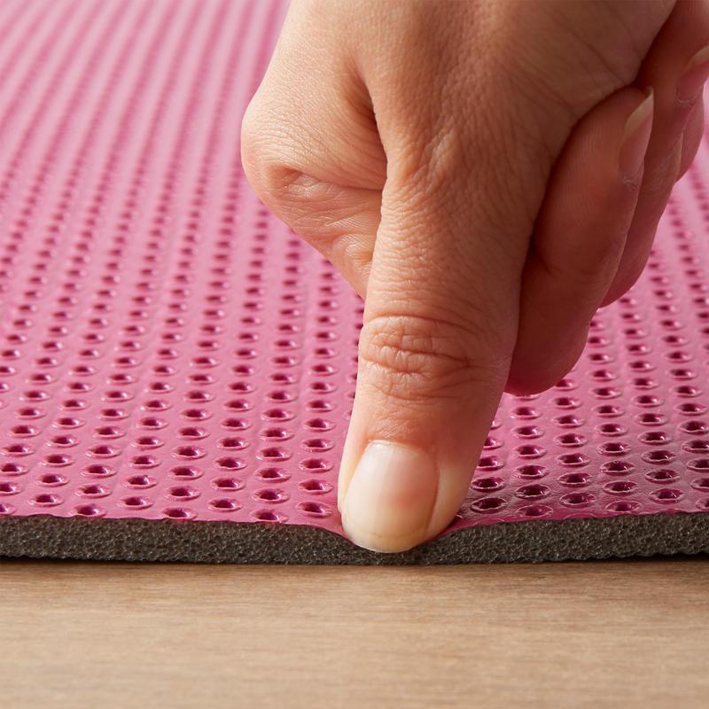Fitness 160 x 60 x 0.7 cm Folding Floor Mat - Pink