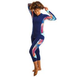 Legging d'Aquafitness femme vib bleu