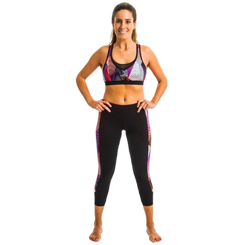 Women's Aquafitness Leggings Vib Black