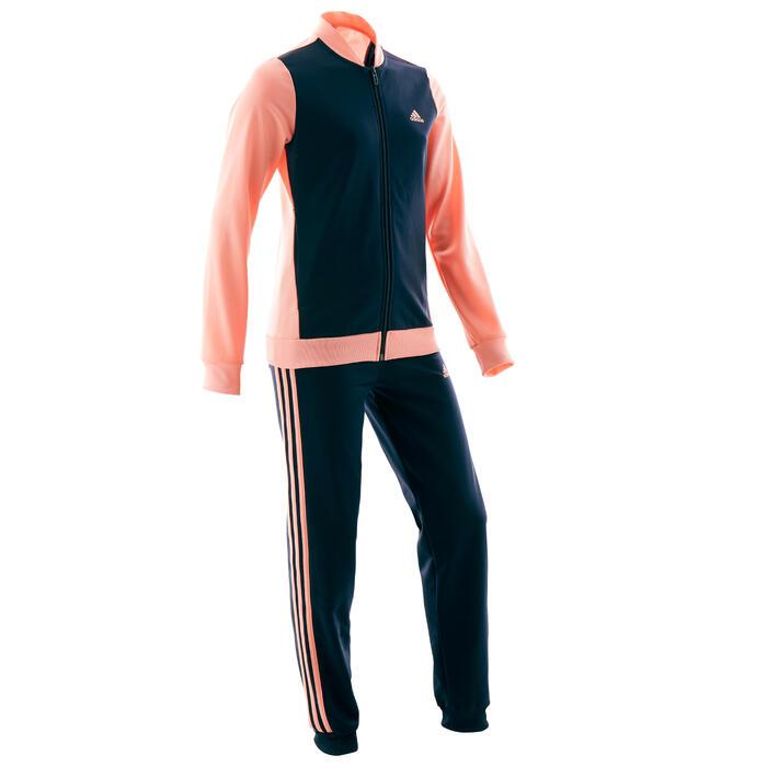 Circunstancias imprevistas bandera nacional fluctuar  Chándal niño niña Adidas gimnasia deportiva rosa negro ADIDAS | Decathlon