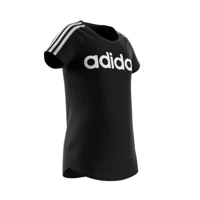 KLÄDER FÖR GYMPA JUNIOR Populärt - T-shirt Adidas Junior svart ADIDAS - Överdelar