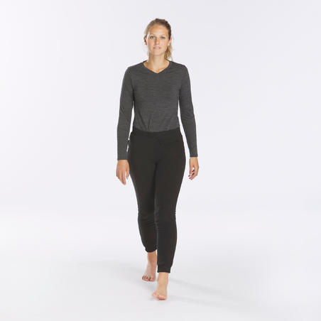 Trek 100 Mountain Trekking Fleece Tights - Women