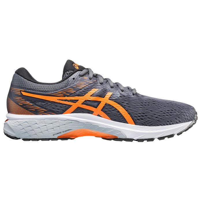 CHAUSSURE DE RUNNING HOMME ASICS GEL GLYDE GRIS ORANGE