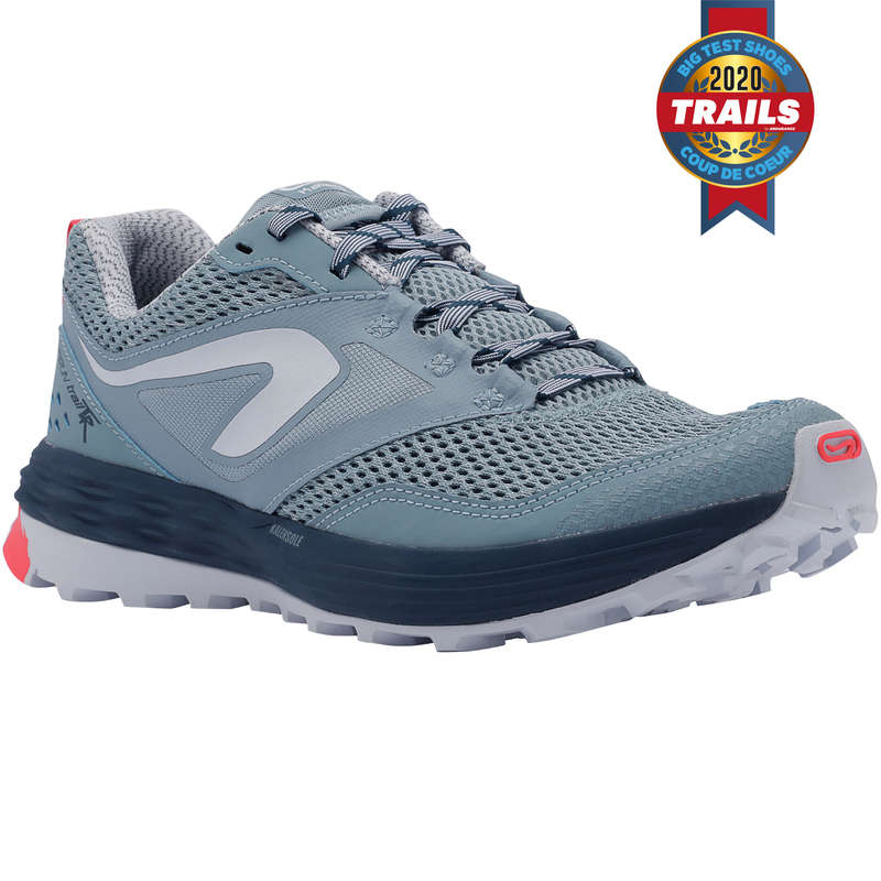 WOMAN TRAIL RUNNING SHOES Running - TR TRAIL W LIGHT BLUE/PINK EVADICT - Running