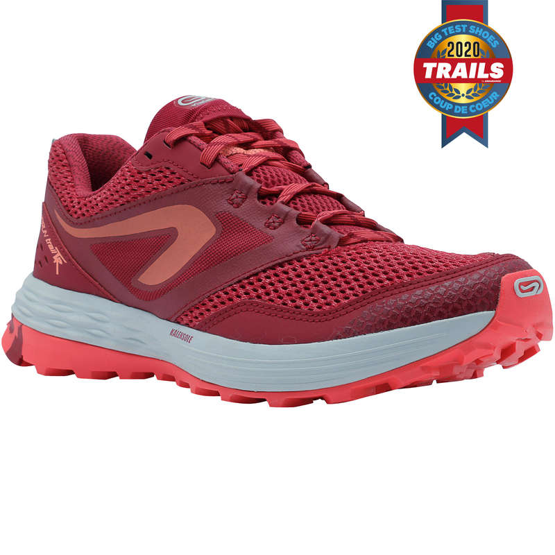 WOMAN TRAIL RUNNING SHOES Running - TR TRAIL W PINK/WHITE EVADICT - Running