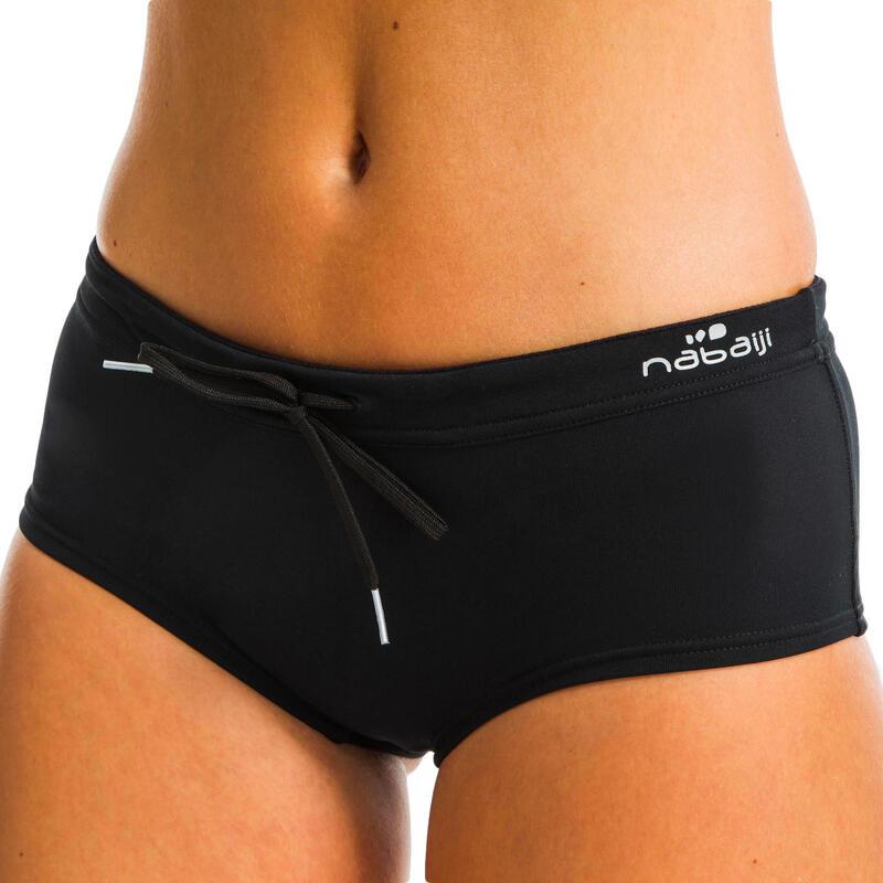 Women's Aquafitness Swimsuit Briefs Meg - Black