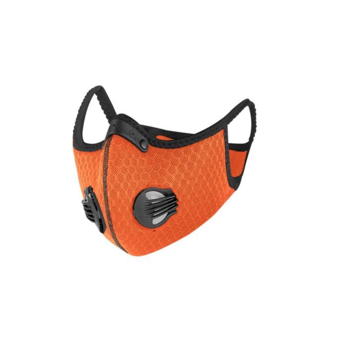 Sportmaskers tegen COVID-19 Breezy oranje