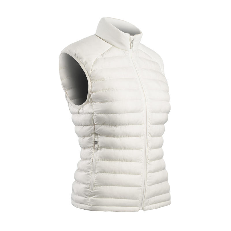 Bodywarmer voor golf dames koud weer wit