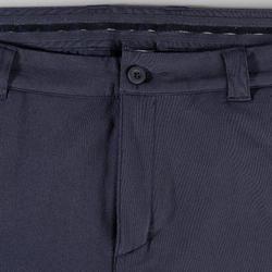 Golfbroek voor heren koud weer marineblauw
