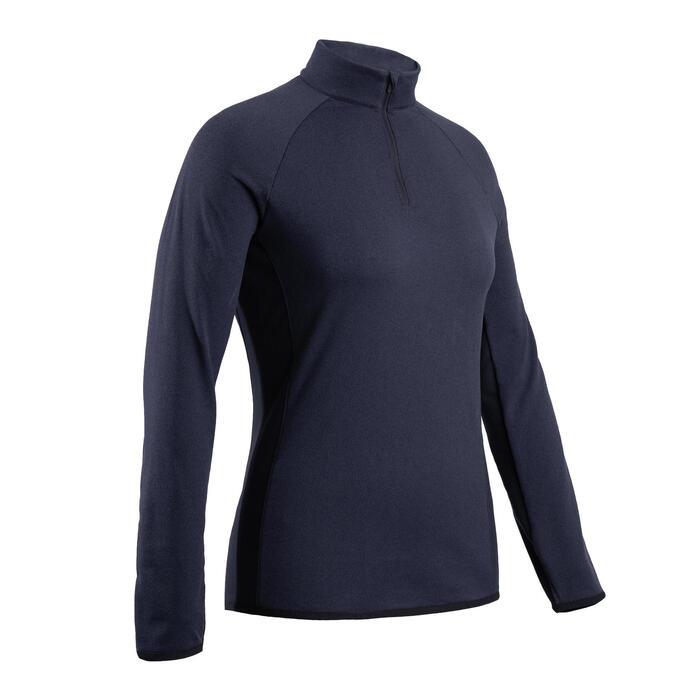 Golfrui voor dames koud weer marineblauw