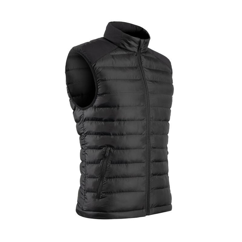 Bodywarmer voor golf heren koud weer zwart