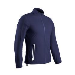 Veste de pluie de golf imperméable homme RW500 bleu marine