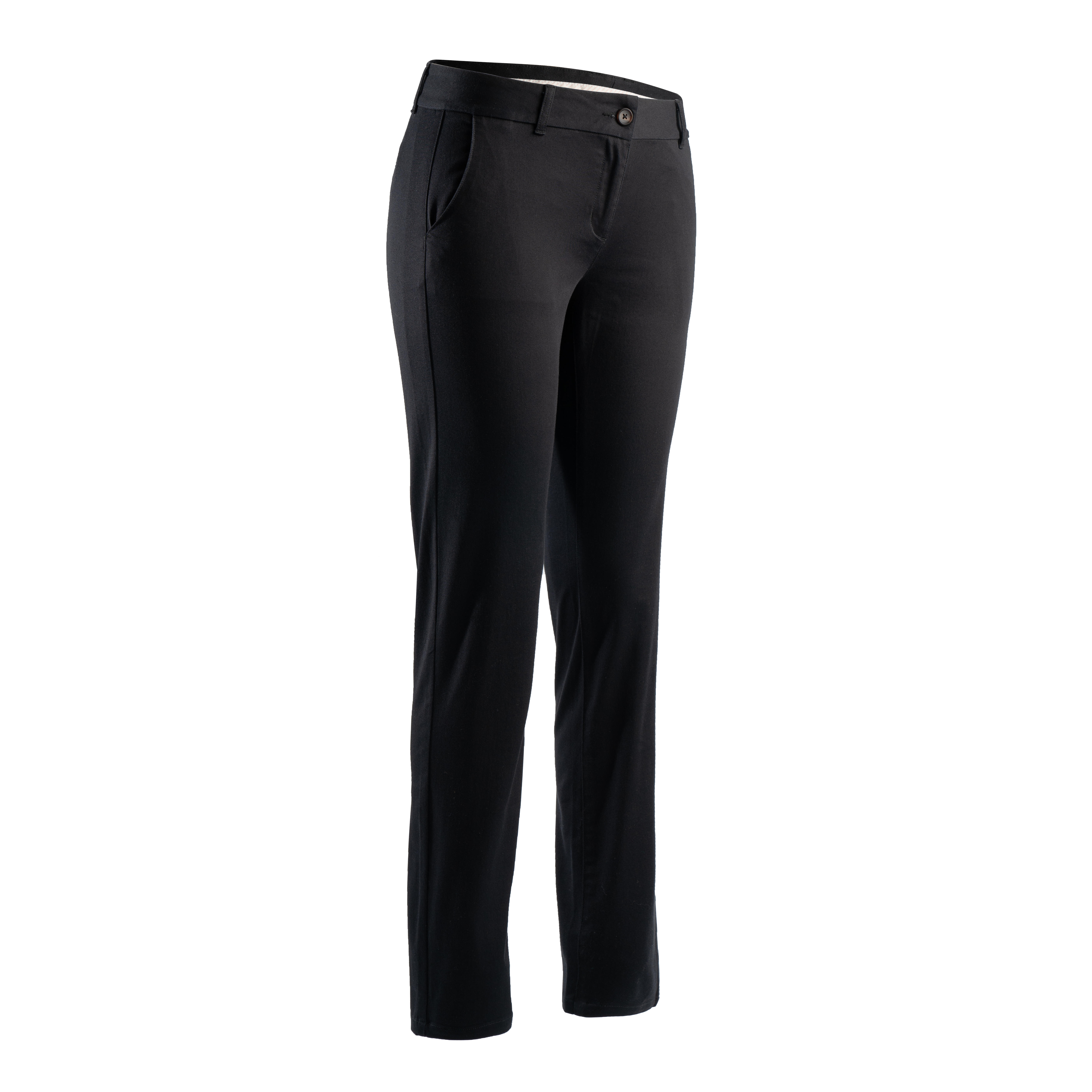 Pantalon Golf Negru Damă imagine