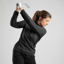 Golfrui voor dames koud weer zwart
