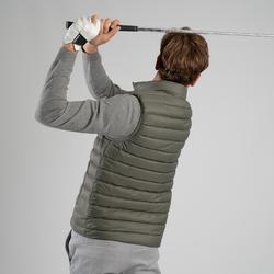 Bodywarmer voor golf heren Ultralight koud weer kaki