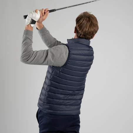 DOUDOUNE DE GOLF SANS MANCHES HOMME ULTRALIGHT BLEUE MARINE