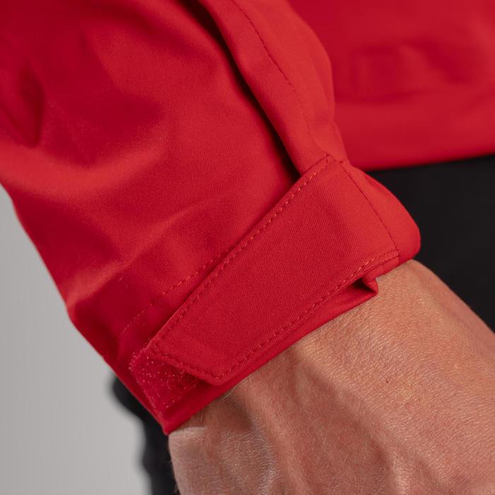 Veste de pluie de golf imperméable homme RW500 rouge