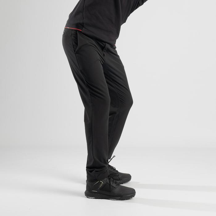 Golfbroek voor heren koud weer zwart