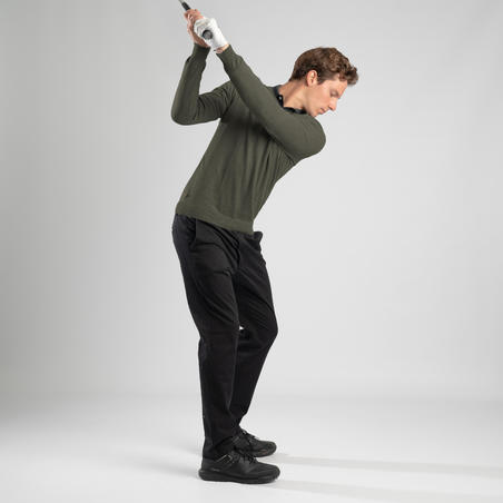 Men's Golf Trousers - Black