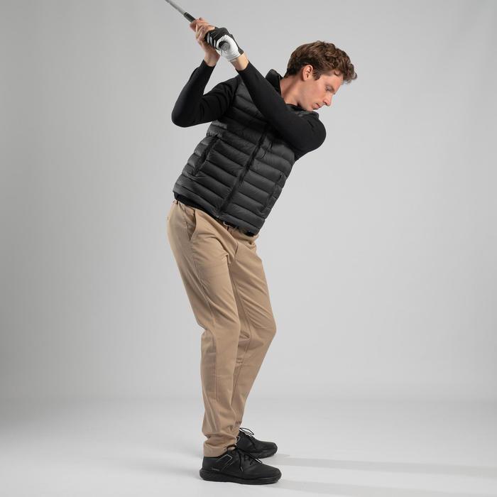 Bodywarmer voor golf heren Ultralight koud weer zwart