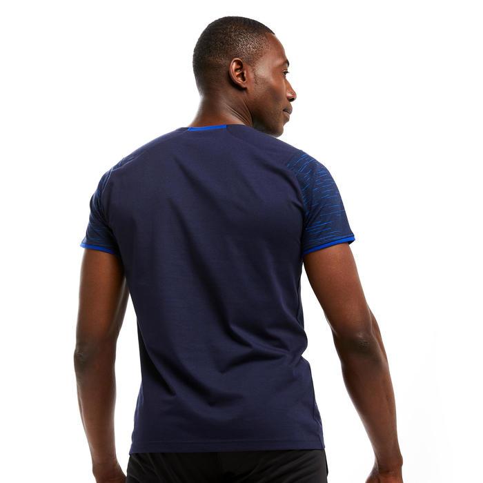 T-shirt de futebol T100 Equipa Azul Escuro