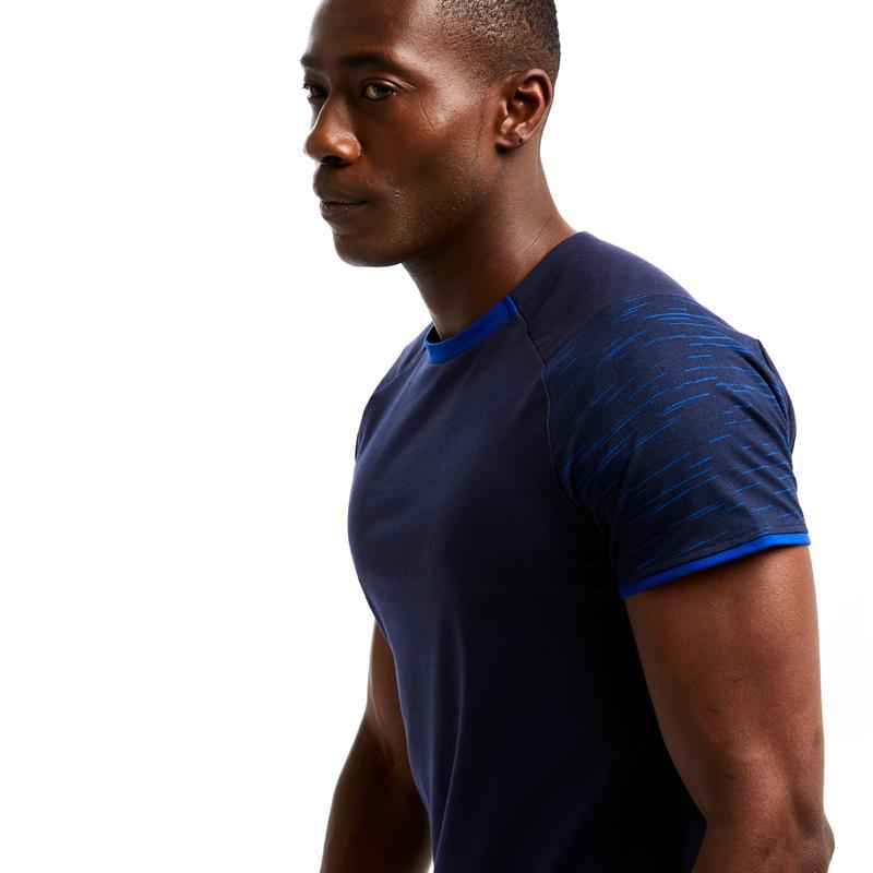 Team Football T-Shirt T100 - Dark Blue