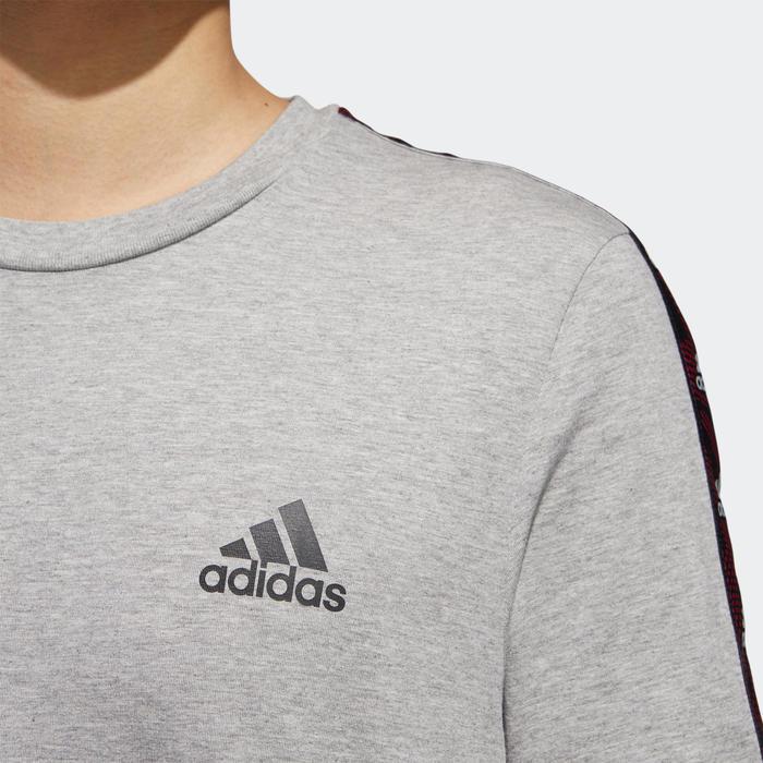 Gym T-shirt voor heren grijs