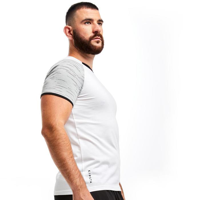 T-shirt de futebol T100 Equipa Branco