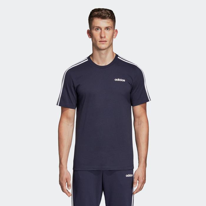 T-shirt voor heren marineblauw