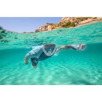 Men's Short Sleeve Neoprene Thermal Top 100 Turquoise
